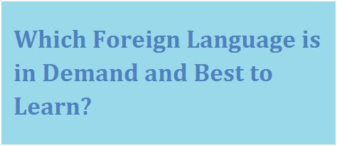Foreign language learning benefits