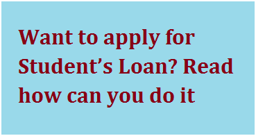 Loan for college students
